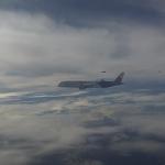 機上直擊幻象伴飛 戴資穎直呼太帥氣 李洋側拍機內逗趣畫面