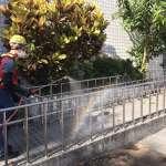 中市環保局校園清消雙管齊下 防疫同時清除登革熱孳生源