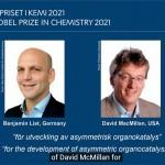 2021諾貝爾化學獎》德、美學者李斯特、麥克米蘭以「不對稱有機催化」獲殊榮