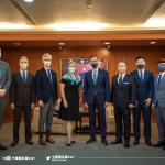 AIT處長孫曉雅拜訪國民黨 朱立倫預定明年初訪美