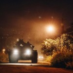 漢光落幕持續演練!裝甲586旅執行戰備偵巡訓練 M60A3戰車拂曉出營