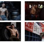輪胎工廠超時尚!健身型男輪胎月曆扭轉傳產形象