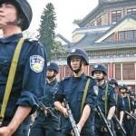 新疆恐怖爆炸 五一假期警力全面戒備