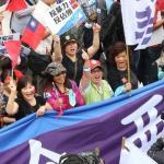 反暴力、反佔領 千人上街遊行