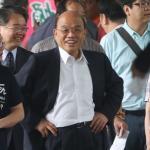 蘇貞昌卸任前探扁談修憲 支持內閣制