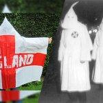 英格蘭推世足雨衣 酷似3K黨遭轟