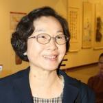 王永在二夫人周由美畫作參展  台塑花海助陣