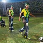 《2014世界盃》癱瘓少年開球 世足今揭幕