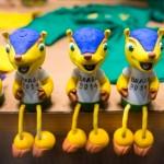 《2014世界盃》世足吉祥物 三帶犰狳瀕滅絕