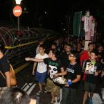 反服貿運動 「驅魔」儀式後和平落幕
