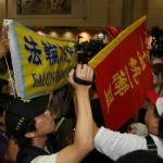 張志軍來台引抗議 中國官媒隻字未提