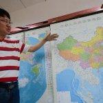 宣示主權!中國地圖由橫變直 完整納入南海