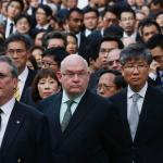 1800人黑衣靜默 香港法律界抗議白皮書