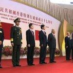 《七一佔中》梁振英:避免影響香港穩定繁榮