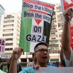以巴戰火持續 台社團聲援巴勒斯坦