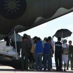 C130運輸機 載運7具罹難者遺體返高雄