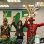 原住民高呼:蔡英文是我們排灣族總統