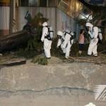 《高雄大氣爆》陸軍39化學兵持續偵測災區化學氣體