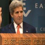 談美國亞太政策 凱瑞肯定台日和平化解爭端