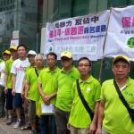 香港17日反佔中大遊行 號稱12萬人