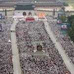 教宗方濟各首爾宣福 百萬信徒見證
