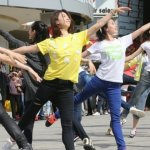 中國芭蕾團快閃 兩岸舞者西門町尬舞