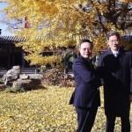 盤整兩岸關係 王張北京茶敘談九二共識