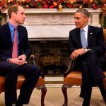 威廉王子會歐巴馬 推動野生動物保育