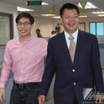 反扁前立委探視 陳致中:盼李文忠致歉