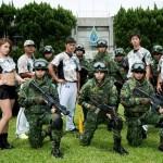慶祝93軍人節 幻象戰機首次球場上空「衝場」