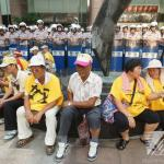要求代位求償 華隆自救會台北車站抗議