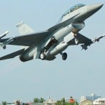 F-16戰機 戰備道起降領航機