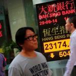 香港民主運動正炙 金融市場受波及
