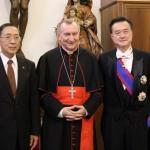 教廷與中發展關係?外長:前提是宗教自由
