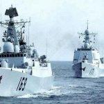 中國海軍新增17艦 南海艦隊領航