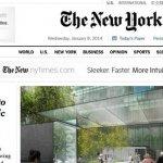 紐時網站改版 簡約大進化