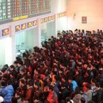 中國春運登場 40天運36億人