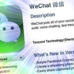 中國微信抓得住用戶 走自己的路