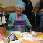 再老也要玩臉書 106歲臉友過生日