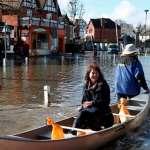 英國狂風暴雨 泰晤士河泛濫
