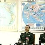 中國軍方神秘地圖 央視意外曝光