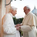 新教宗備受推崇 老教宗:不會嫉妒