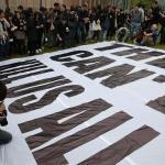 企硬反滅聲、撐言論自由 香港大遊行