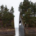 屠殺後的大地傷痕 挪威選定紀念場