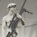 大衛玩步槍?美國軍火廣告挨批
