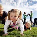 母親愛運動 子女健康受益