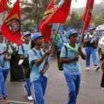 斷層上蓋水壩 緬甸民眾苦行抗議