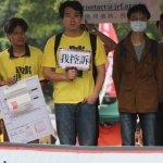 康乃馨vs.太陽花 服貿反服貿29日街頭相撞