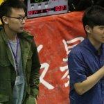 反服貿學生 下午赴林鴻池板橋選區抗議