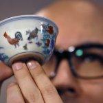 明代瓷杯拍賣 10億天價成交